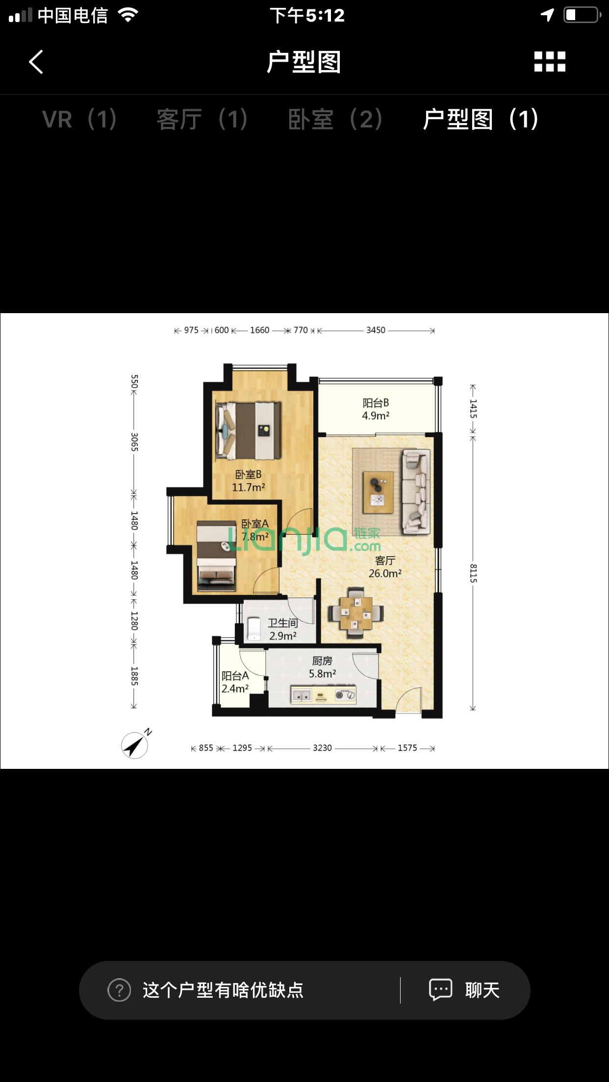 自住想置业以下任意一楼盘两房单位,是否值得入手?